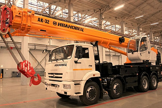 "New models of ""IVANOVETS"" autocranes will be presented at the international expo bauma ctt russia 2019"